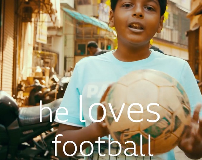 14 football crazy OSCAR boys set off from the slums of Mumbai for the UK, beautifully captured in CBBC's BAFTA winning document.